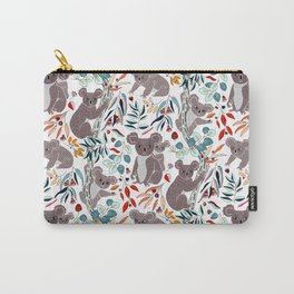 Cute Cuddly Koalas Carry-All Pouch