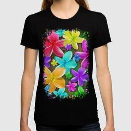 Plumerias Flowers Dream T-shirt