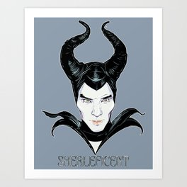 SHERLEFICENT Art Print