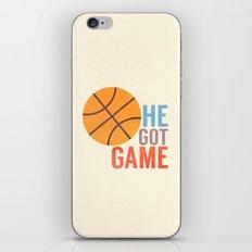 He Got Game iPhone & iPod Skin