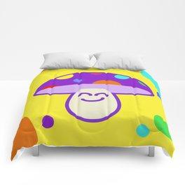 Shroomie - The friendly Magic Mushroom Comforters