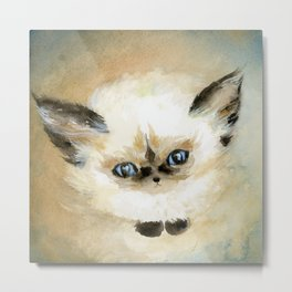 Little Fluff Metal Print