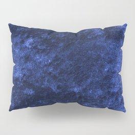 Royal blue navy velvet Pillow Sham