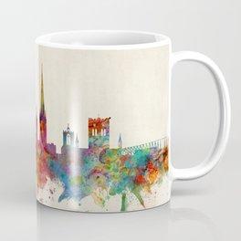 Norwich England Skyline Coffee Mug
