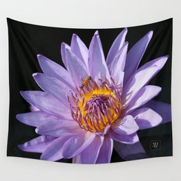 Evening Nymphaea Wall Tapestry