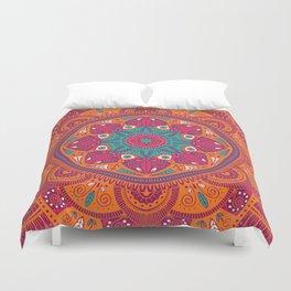 Colorful Mandala Pattern 017 Duvet Cover