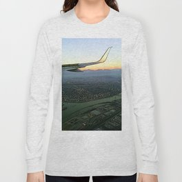 Landing together with the sun Long Sleeve T-shirt