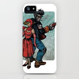 Ginny & Clutch (Little Red Riding Hood Reloaded) iPhone Case