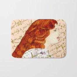 I love Redheads Bath Mat