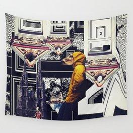 my friend burt Wall Tapestry