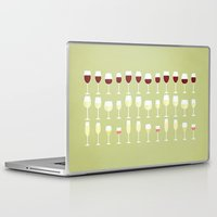 wine Laptop & iPad Skins featuring Wine by Sara Showalter