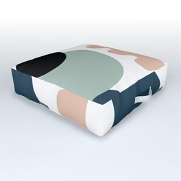 Shape study #18 - Stackable Collection Outdoor Floor Cushion