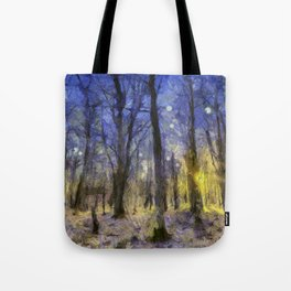 The Forest Van Gogh Tote Bag