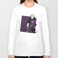 clint barton Long Sleeve T-shirts featuring Clint Barton by The Radioactive Peach