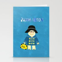 london map Stationery Cards featuring LOndOn Map by Hui_Yuan-Chang