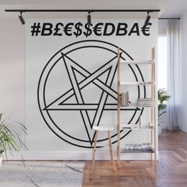 TRULY #BLESSEDBAE INVERTED INVERSE Wall Mural