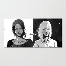 Yumikuri Canvas Print
