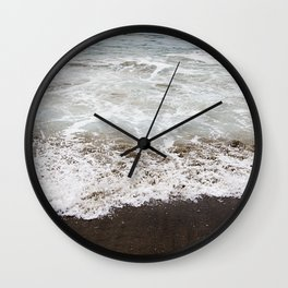 Brown Beach Wall Clock