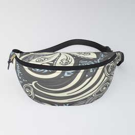 Vintage Polynesian Tribal Threads Fanny Pack