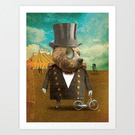 Circus-Circus: Peddler Art Print