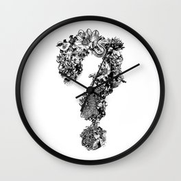 Questionmark Wall Clock