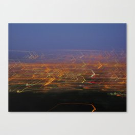 Runyon Lights Canvas Print