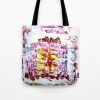 cake Tote Bags featuring Cake by Andreea Maria Has