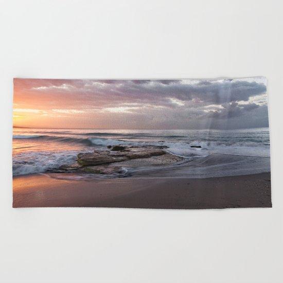 ocean bliss Beach Towel