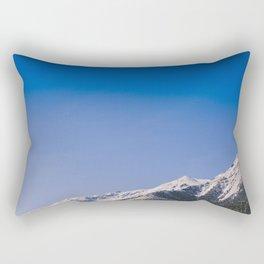 Mt. Princeton Spring Snow Rectangular Pillow