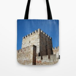 Lisbon Castle, Portugal Analog 6x6 Kodal Ektar 100 (RR 164) Tote Bag