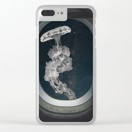 Space Jellyfish Clear iPhone Case