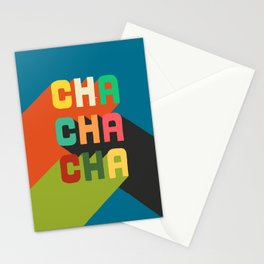 Cha cha cha Stationery Cards