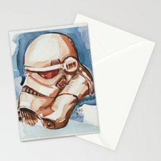 Storm trooper water color FAnart Stationery Cards
