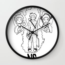 DESIGNER - NO STRESS! Wall Clock
