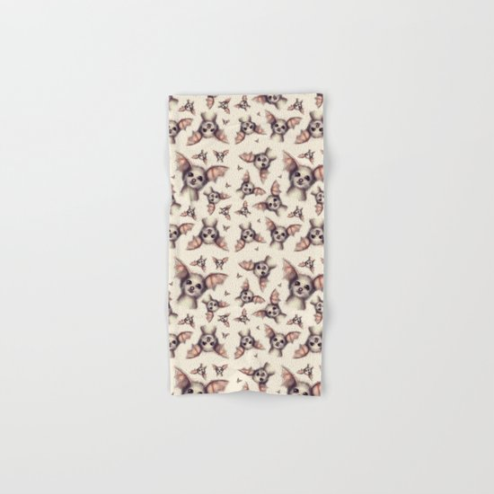 What the Fox - Pattern Hand & Bath Towel