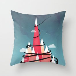 Up To The Stars Throw Pillow
