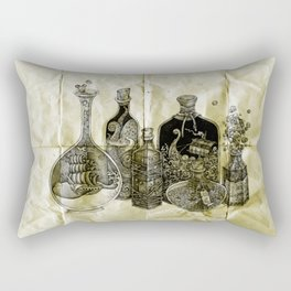 sea witch's cabinet Rectangular Pillow