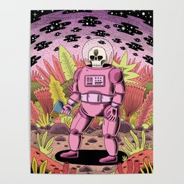 The Dead Spaceman Poster
