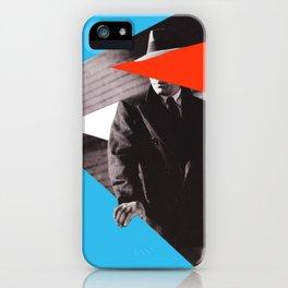The Maltese Falcon - Collage artwork iPhone Case