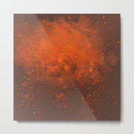 Spit Fire Metal Print