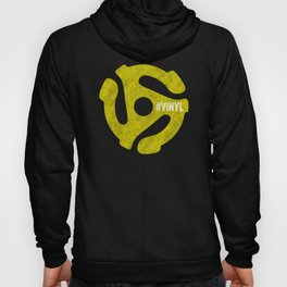 45 RPM Spindle Vinyl Record Collector Hoody