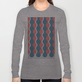 Midcentury Pattern 05 Long Sleeve T-shirt