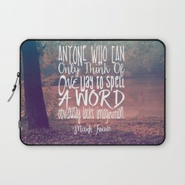 More Than One Way to Spell a Word Laptop Sleeve