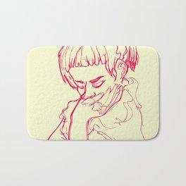 pink girl Bath Mat