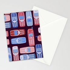 Vintage Cellphone Reactions Stationery Cards
