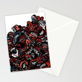 The chattering class  -alt Stationery Cards