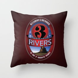 3RB – 20th Century Shiprock Classic Throw Pillow