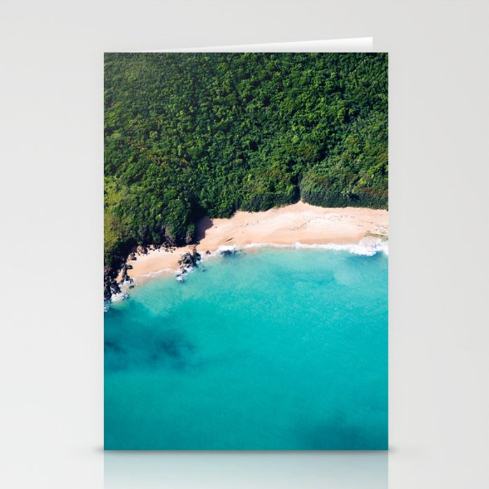 Turquoise Beach Stationery Cards