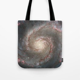 The Whirlpool Galaxy Tote Bag