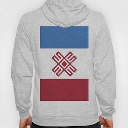 Mari-El flag emblem Hoody